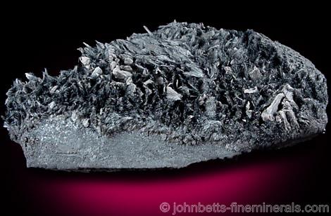 Hair-like Crystals of Romanechite