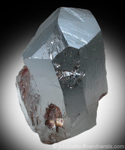 Mirror-like Rutile Crystal