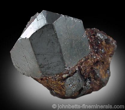 Lustrous Stubby Rutile Crystal