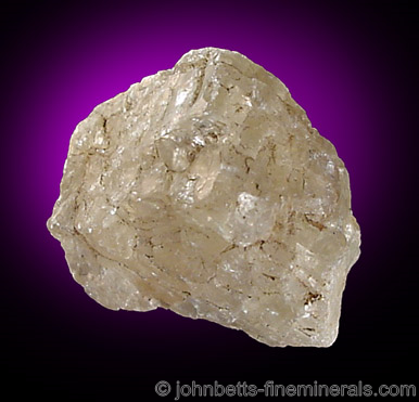 Rough Sanidine Crystal from Wehr Eifel, Westphalia, Germany
