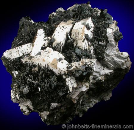 Sanidine, Aegirine, and Catapleiite from De-Mix Quarry, Mont Saint-Hilaire, Quebec, Canada