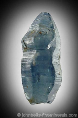 Barrel-shaped Sapphire Crystal