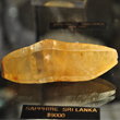 Yellow Sapphire Crystal