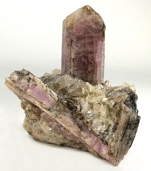 Purple Scapolite in Matrix