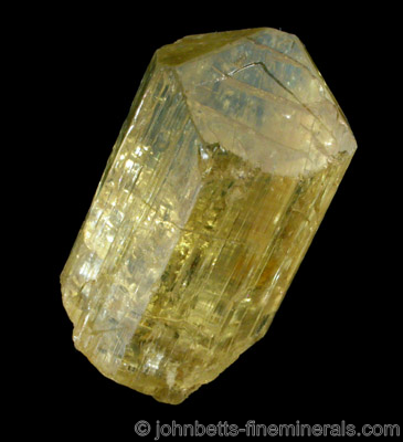 Transparent Yellow Scapolite