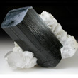 Schorl Crystal in Albite & Quartz