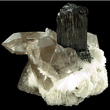 Heavily Striated Schorl Crystal