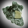 Shiny Chlorite Matrix with Apatite