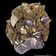 Siderite with Galena