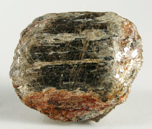 Parallel-Growth, Olive-Brown Sillimanite