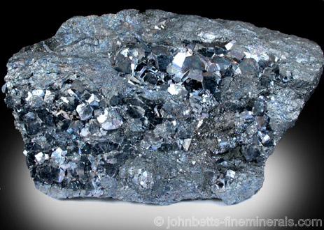 Iridescent Skutterudite Crystals