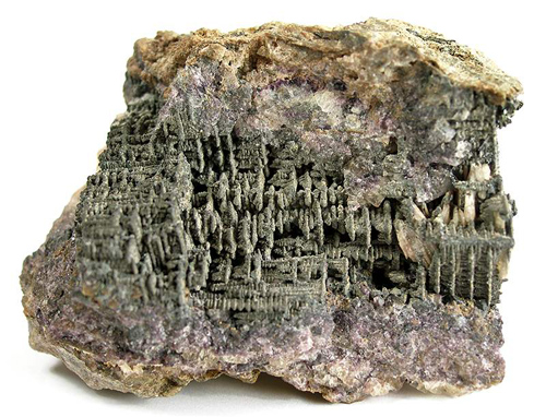 Reticulated Skutterudite Crystals