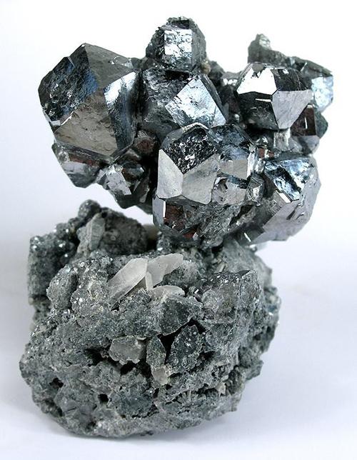 Splendent, Silver-Colored Skutterudite