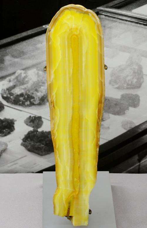 Yellow Smithsonite Stalactite