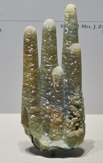 Smithsonite Stalactites