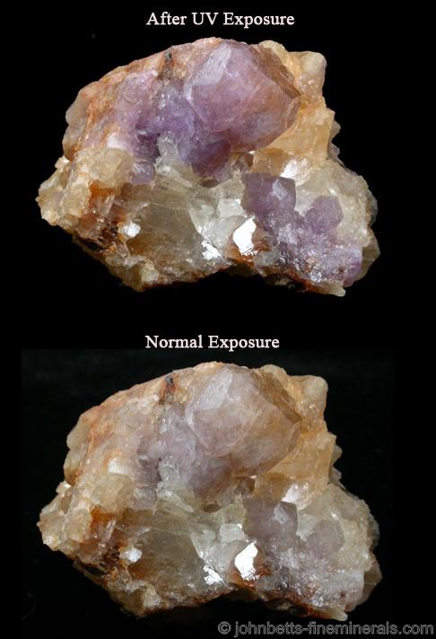 Tenebrescent Hackmanite - The Mineral and Gemstone Kingdom