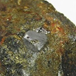 Sperrylite Crystal in Chalcopyrite Matrix