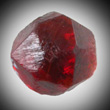 Red-orange Spessartine Crystal