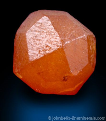 Perfect Orange Spessartine Crystal