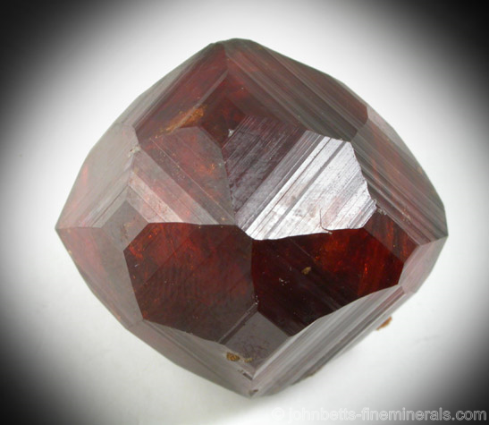 Stunning Single Spessartine Crystal