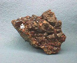 Dark Red Sphalerite Cluster