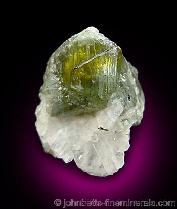 Green Transparent Sphalerite
