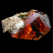 Red Gemmy Sphalerite