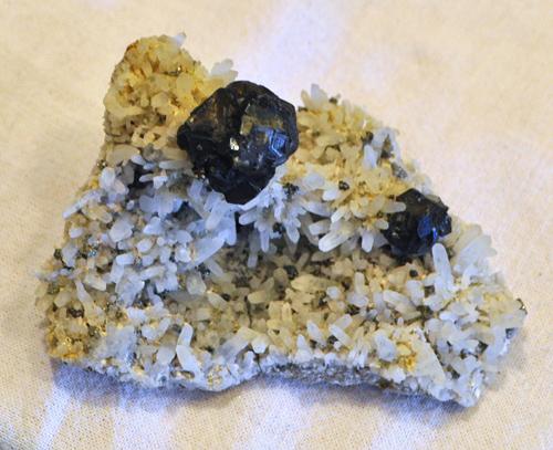 Sphalerite in Quartz