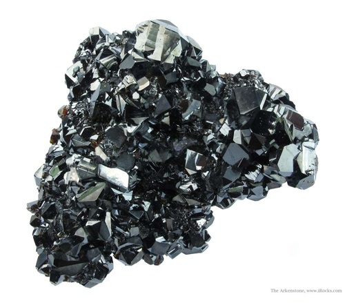 Lustrous Sphalerite Crystal Cluster