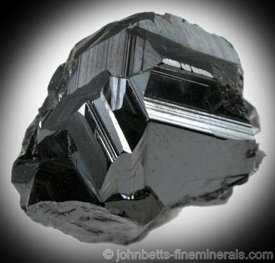 Lustrous Sphalerite Crystal Mass