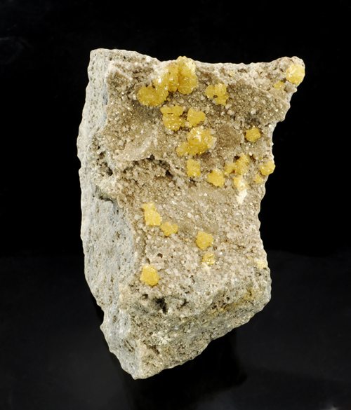 Yellow Sphalerite on Dolomite