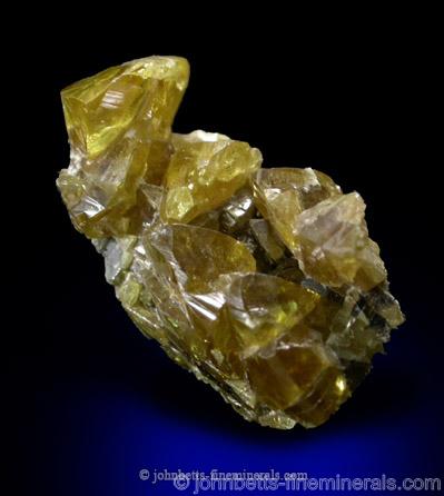 Yellow Gemmy Sphalerite