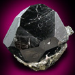 Black Complex Spinel Crystal