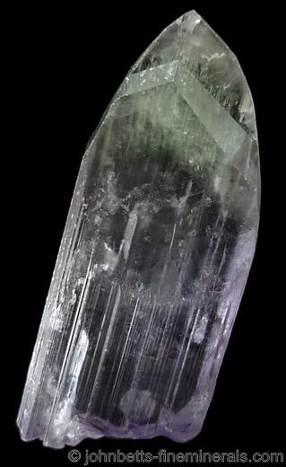 Multicolored Spodumene Crystal