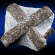 Staurolite Cross in Matrix