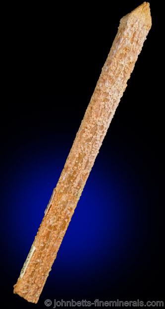 Single Elongated Stibiconite Crystal