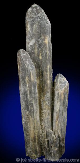 Gray Columnar Stibiconite Crystals
