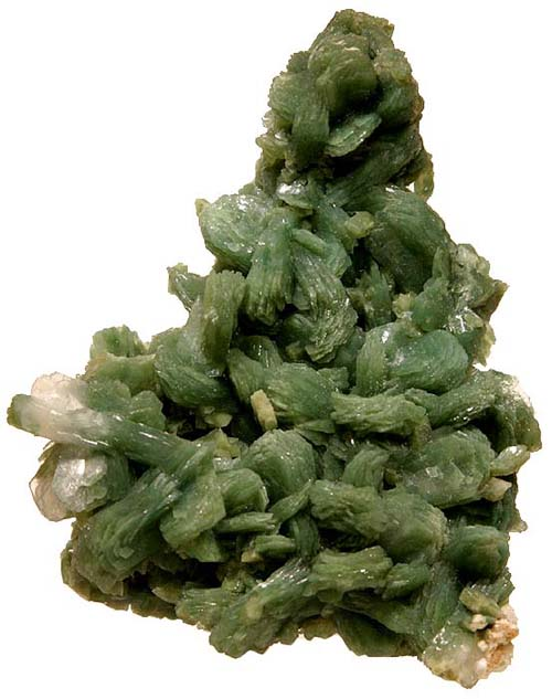 Green Stilbite with Celadonite