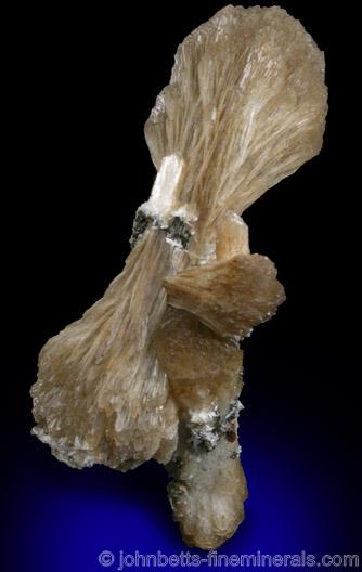 Stilbite Wheat Sheaf