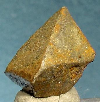 Pseudo-octahedral Stolzite from Darwin District, Inyo Co., California