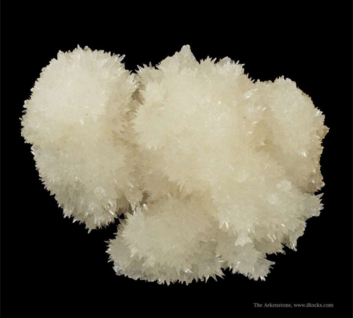 Spiky Strontianite Cluster