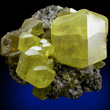 Classic Sulfur Crystal