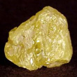 Crystal fragment of Sulfur