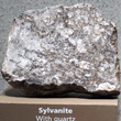 Sylvanite in Quartz