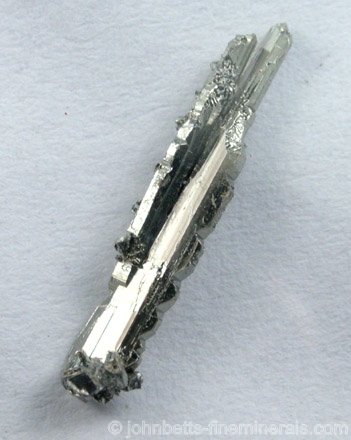 Elongated Skeletal Sylvanite Crystal