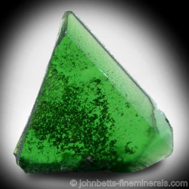 Chromium-Rich Green Titanite