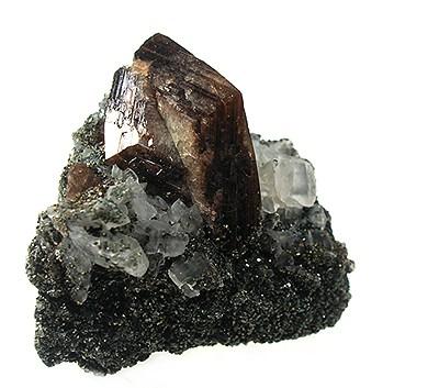 Twinned Brown Titanite