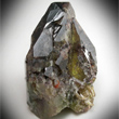 Twinned Transparent Brown Titanite