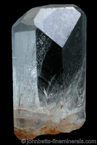 Prismatic Topaz Crystal from Klein Spitzkoppe, Damaraland, Namibia