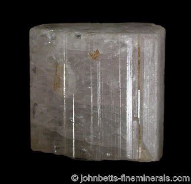 Achroite Crystal (Colorless Elbaite) from Pala District, San Diego County, California
